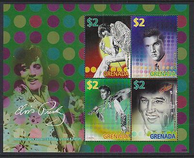 Grenada 2008-10 Mint MNH 4 Minisheets Elvis Presley The King Roustabout Memphis