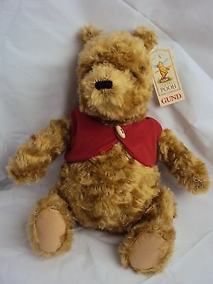 Winnie The Pooh Gund Bear New And Tagged Collectors Item