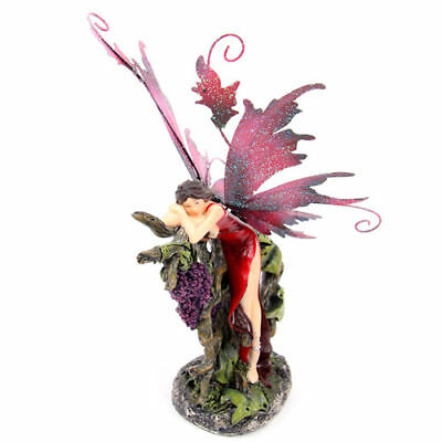 Legends of Avalon Fairy with Fruit Figurine - Grapes