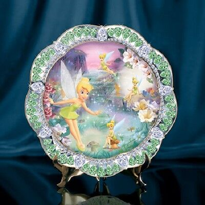 Tinker Bell Fairy Dust Plate - Jewels of Neverland - Bradford Exchange