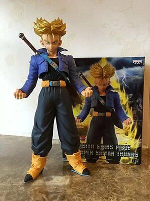 New Dragon Ball Z Super Saiyan Trunks Action Figure 9.5''  inches tall