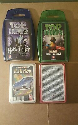 Top Trumps and Trumps pick and choose (non-english)