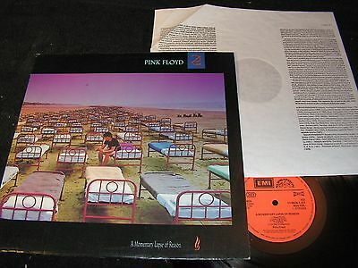 PINK FLOYD A Momentary Lapse Of Reason / Czech LP 1989 SUPRAPHON 110540-1311ZN