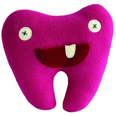 Cate & Levi Handmade Pink Softy Tooth Pillow Pal Polar Fleece (Made in Canada)