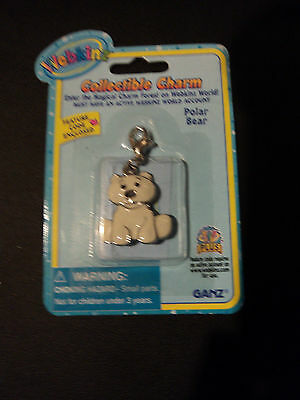 Webkinz Charm Brand New in Package W Sealed Code - POLAR BEAR