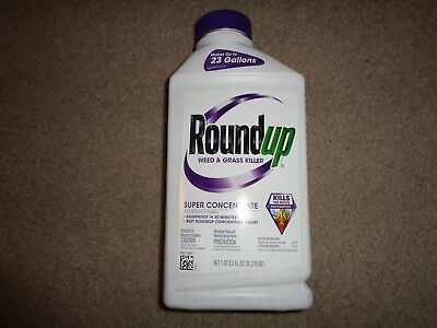 Roundup Concentrate 32 oz Poison Ivy Plus Tough Brush Killer Free Priority Ship