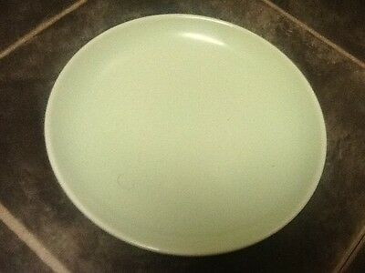 """Iroquois Casual China Russel Wright - 2 Bread Plates - 6 1/2"""" - Lettuce Green"""