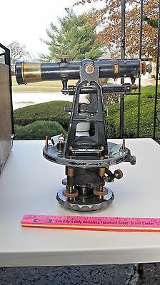 Dietzgen Surveyor Transit Level With Wood Case S/n 11364 Used 1925