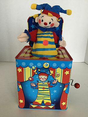 Schylling's Silly Circus Jack In The Box Clown Jester