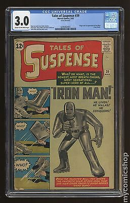 Tales of Suspense (1959) #39 CGC 3.0 (0295062001)