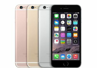 Apple iPhone 6s Plus 16GB Unlocked 4G LTE Gold Gray Silver Rose Excellent A+