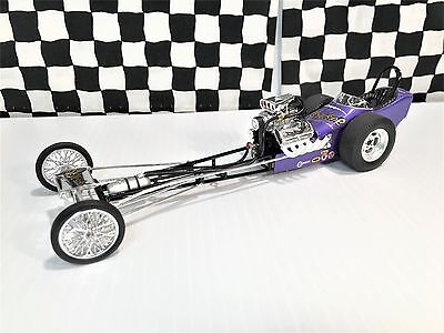 """1320 Diggers Tom """"The Mongoose"""" McEwen Yeakel Plymouth Fuel Dragster LE 1:24 Bxd"""