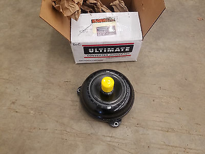 "Ultimate convertor concepts 8"" 7000-7100 stall excellent powerglide turbo spline"