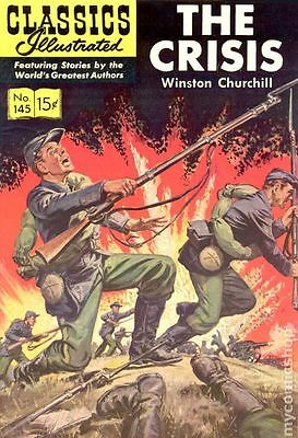 Classics Illustrated 145 The Crisis (1958) #1 GD/VG 3.0 LOW GRADE