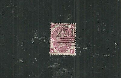 GREAT BRITAIN STAMP #43a PL12 (USED) FROM 1.