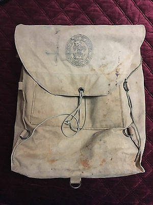Vintage Boy Scout Back Pack New York Council Pickwick Ralph Brooks Troop 831