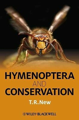Hymenoptera and Conservation by Tim R. New Hardcover Book (English)