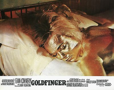 James Bond 007  Shirley Eaton  Goldfinger 1964 Vintage Lobby Card #3  R70