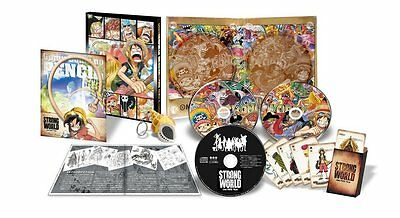 One Piece OnePiece Japan Anime Comic DVD-Box Film Strong World LIMITED EDITION