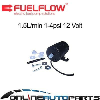 FuelFlow # 015 Electric Fuel Pump 12 volt 1-4psi Universal High Quality NZ Made