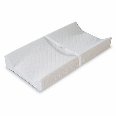 Summer Infant 4-Sided Contoured Nursery Changing Table Pad, White New