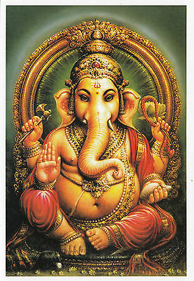 (96866) Postcard India Lord Ganesh - unposted