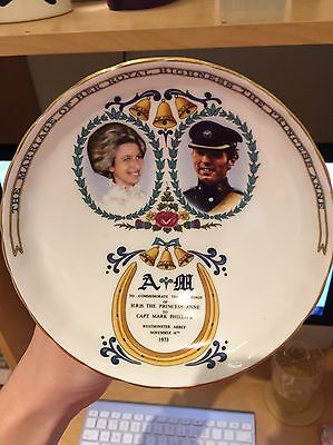 1973 Princess Anne & Captain Mark Phillips Wedding Bowl By Aynsley