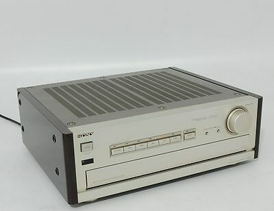 Sony Es Class Wooden Sides Top Stereo Amplifier