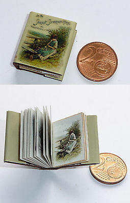 winziges   Miniatur Buch * In the sweet summertime*  für die Puppenstube