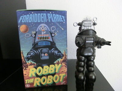 Robby The Robot Wind up Figur Forbidden Planet Made in Japan + OVP Sci-Fi