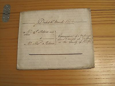 Conveyance – Palmer/Price/Marfell – Walford, Herefordshire – 1843