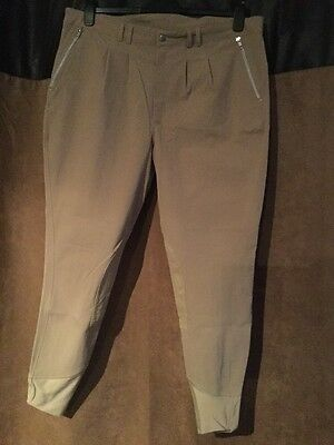 British Eventing Beige Breeches Size 40