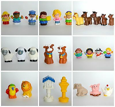 Little People mixed lot figures farm animals boys girls Fisher Price toys 27pcs