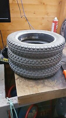 62-203 12 1/2  x 2 1/4 part worn wheel chair tire x1