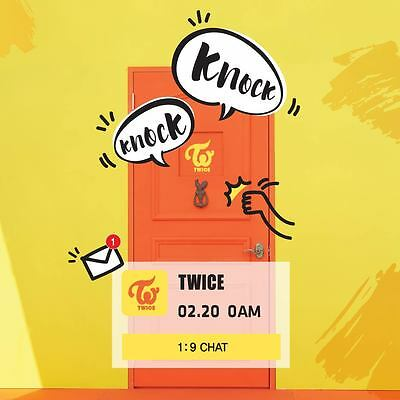Twice  Special album *Knock Knock* twicecoaster lane2/Select Ver./Poster Opt.