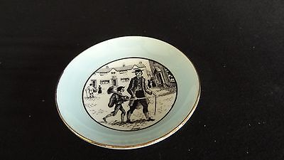 London Cries Series Sweeps Adderly Tiny bone china plate Royal rare 1759