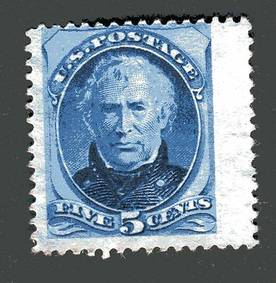 1875 General Zachary Taylor, 5c, unused