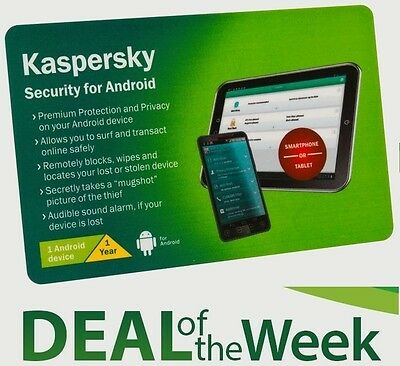 KASPERSKY INTERNET SECURITY 2017 for 2 Android,Mobile Phone,Smartphone