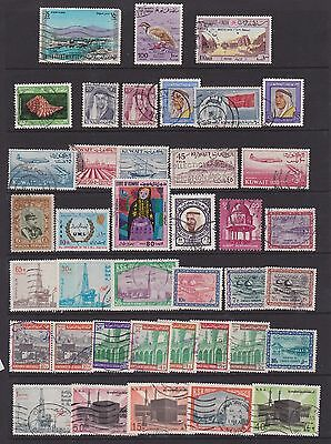 Middle East Joblot  about 80  stamps inc early issues