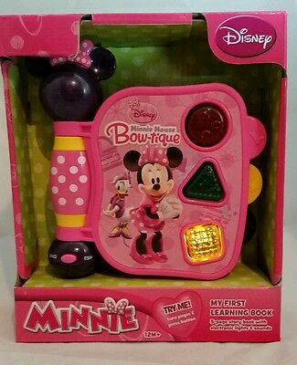 DISNEY MINNIE MOUSE Bow-tique My First Learning Book Musical Toy 12M+ Gift
