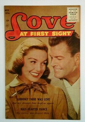Love At First Sight  # 43 Very  Fine  1956