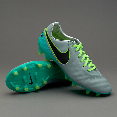 Nike Tiempo Legacy II FG Football Boots (819218 003) UK 10 * EUR 45