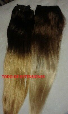 Extensiones Californianas De Cabello Natural 100 %, 50 Gramos, 4-613