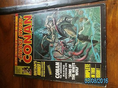Savage Sword of Conan Marvel UK Issue 21
