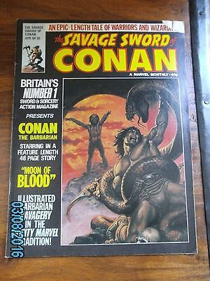 Savage Sword of Conan Marvel UK Issue 30