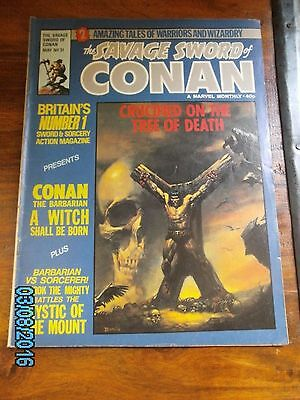 Savage Sword of Conan Marvel UK Issue 31