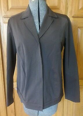 Pea in the Pod maternity jacket brown large l snaps
