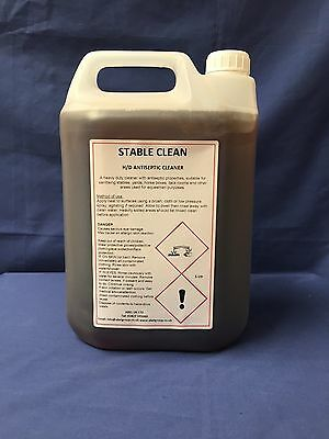 Stable Clean            Heavy Duty / High Concentrate Jeyes fluid formula 5L