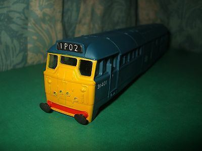 Airfix Br Class 31 Blue Loco Body Only