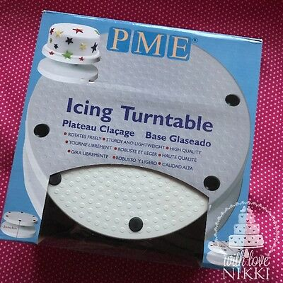 PME ICING CAKE TURNTABLE STAND for Sugarcraft Decorating tool display